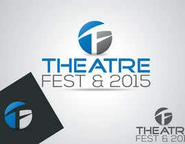 #17 for Design a Logo for TheatreFEST/15 by LOGOMARKET35