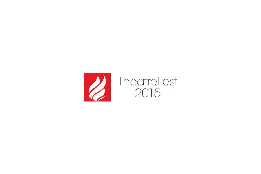 Proposition n°49 du concours Design a Logo for TheatreFEST/15