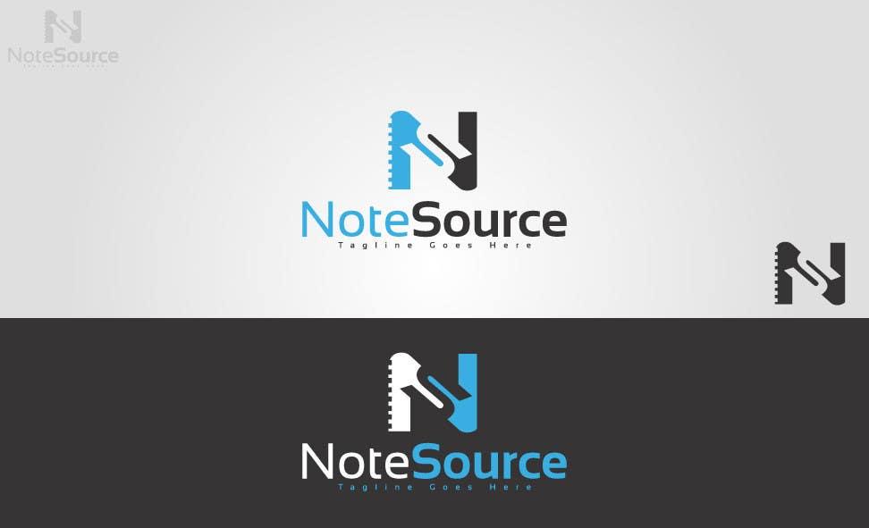 Kilpailutyö #40 kilpailussa Design a Logo for NoteSource