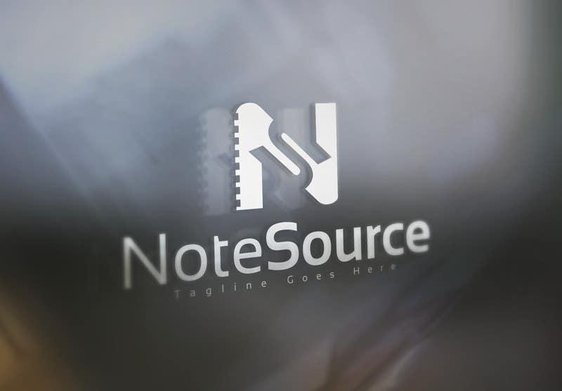 Kilpailutyö #42 kilpailussa Design a Logo for NoteSource