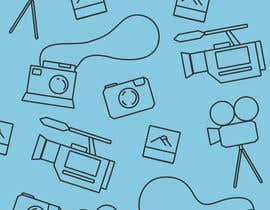#4 for Seamless Doodle Style Pattern (Photography Related) af jessebauman