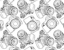 #6 for Seamless Doodle Style Pattern (Photography Related) af sinojos1