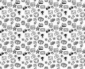Graphic Design Konkurrenceindlæg #1 for Seamless Doodle Style Pattern (Photography Related)