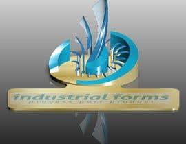 #22 cho CAD Design/ model up logo of Industrial Forms suitable for 3d Printing bởi SundaramRamGuru