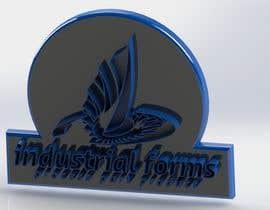 #33 cho CAD Design/ model up logo of Industrial Forms suitable for 3d Printing bởi khaled9samir