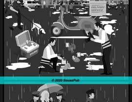 sousspub tarafından Black and White Comic Illustration için no 19