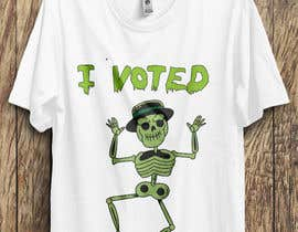 #28 for I Voted Tee Design by alonekaium