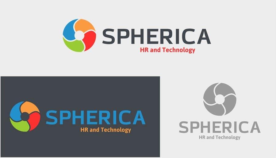 """Inscrição nº 501 do Concurso para Design a Logo for """"Spherica"""" (Human Resources & Technology Company)"""