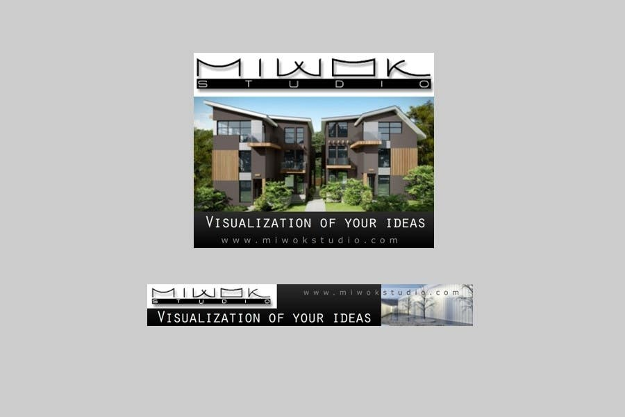 Konkurrenceindlæg #                                        34                                      for                                         Banner Ad Design for Miwok Studio