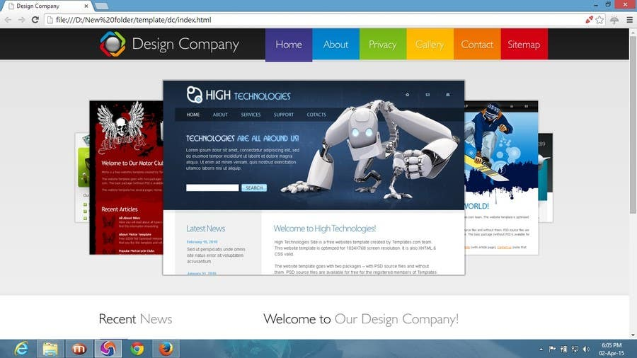 Contest Entry #                                        3                                      for                                         Create a Wordpress Template for a Technical Tutorial Blog