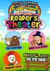 Illustration Contest Entry #11 for school Reader's Theater invitation