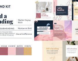#10 สำหรับ Color palette, heading, subheading and body text font and 5 instagram templates in Canva โดย Irinamoraru94