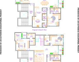#7 untuk Redesign the architectural drawing of a duplex flat oleh RhythmSeth