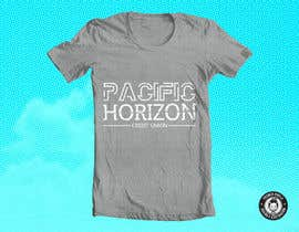 #15 untuk Design a custom T-Shirt for Pacific Horizon oleh yosmerpirela