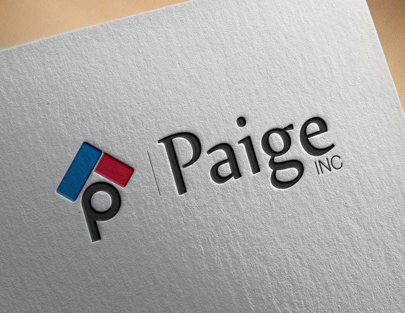 Entri Kontes #                                        35                                      untuk                                        Concevez un logo for Paige Inc