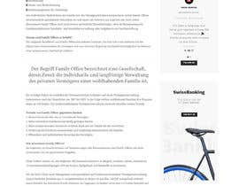 #75 for GREAT PROJECT: CONTENT PAGE FOR NEW WEBSITE by lgordonzl