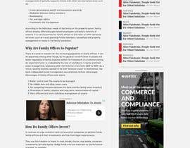 #62 for GREAT PROJECT: CONTENT PAGE FOR NEW WEBSITE by emreY9