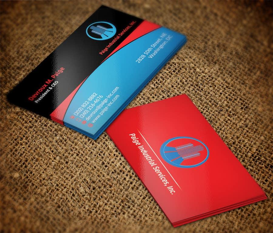 Konkurrenceindlæg #                                        74                                      for                                         Concevez des cartes de visite professionnelles for Paige Inc