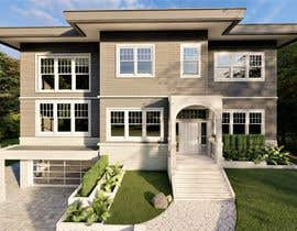 #82 untuk I NEED AN EXTERIOR DESIGNER - WITH EXPERIENCE DESIGNING RESIDENTIAL HOMES IN THE USA NORTHEST oleh SarahPHussein