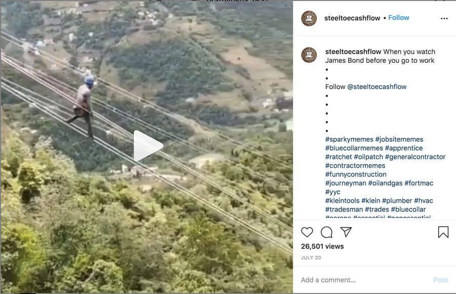 Penyertaan Peraduan #                                        29                                      untuk                                         Find One Piece of Instagram Content (Construction Industry)