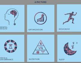 Nro 25 kilpailuun I need 6 illustrations for my website käyttäjältä MDJillur