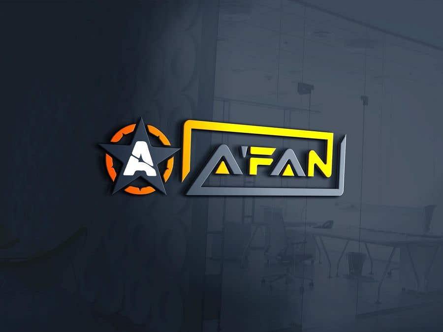 Kilpailutyö #                                        134                                      kilpailussa                                         Need a professional design brand  A'FAN