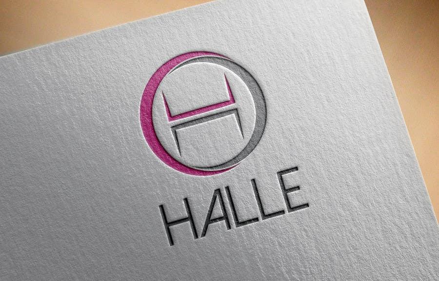 Proposition n°                                        205                                      du concours                                         Design a logo for HALLE - Diseñar un logo para HALLE
