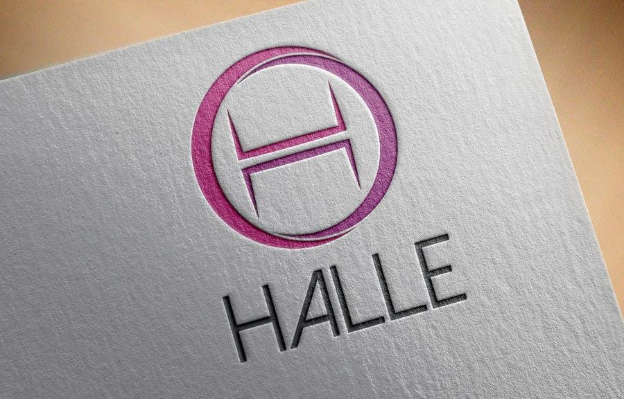 Proposition n°                                        206                                      du concours                                         Design a logo for HALLE - Diseñar un logo para HALLE