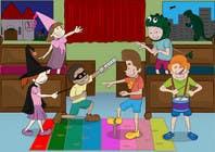 Bài tham dự #35 về Graphic Design cho cuộc thi Illustration for Preschool activities for KIDS.