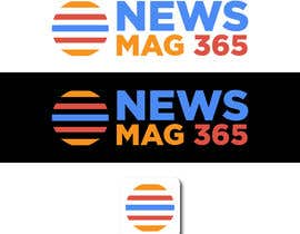 ansardeo tarafından Urgently required very sleek and eligent designed logo and favicon for my website which is based on online news => website brand name is News Mag 365 so i am looking for logo and favicon for it in 3 colors için no 57