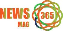 Graphic Design Entri Peraduan #60 for Urgently required very sleek and eligent designed logo and favicon for my website which is based on online news => website brand name is News Mag 365 so i am looking for logo and favicon for it in 3 colors