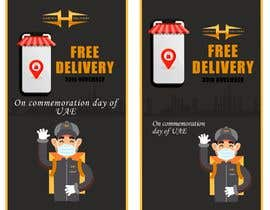 #11 untuk I want to make an advertisement of a delivery company that will do promotion of free delivery on 30 Of November oleh josselinrt