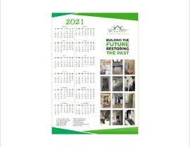 Nro 179 kilpailuun A4 format calendar 2021 käyttäjältä myprayitno80