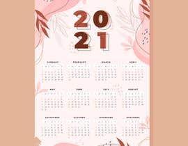 Nro 205 kilpailuun A4 format calendar 2021 käyttäjältä hossainahmed360