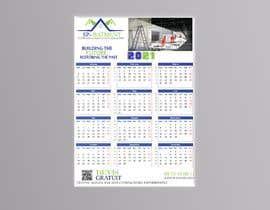 Nro 211 kilpailuun A4 format calendar 2021 käyttäjältä Designworld909