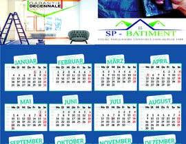 Nro 209 kilpailuun A4 format calendar 2021 käyttäjältä farukrtp
