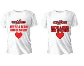 Nro 126 kilpailuun URGENT NEED PRINTABLE QUALITY TEXT for a shirt created käyttäjältä lara900