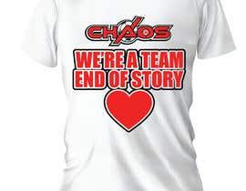 Nro 127 kilpailuun URGENT NEED PRINTABLE QUALITY TEXT for a shirt created käyttäjältä lara900