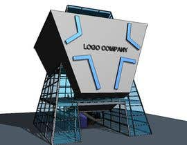 #8 untuk drawing of  futuristic looking office building oleh salirezaalaei