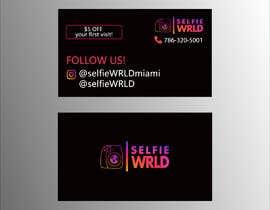 #38 for Selfie Wrld Business Cards af tanjimahmedarif6