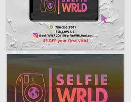 #39 for Selfie Wrld Business Cards af annuratirahabdha