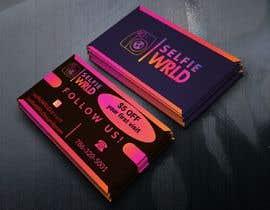#40 for Selfie Wrld Business Cards af mokhlesur0