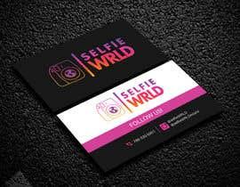 #82 for SelfieWRLD - Business Cards af kailash1997