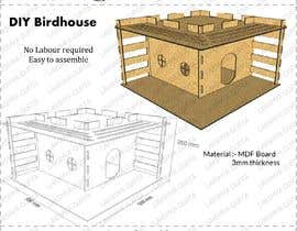 #32 for Make a series of building plans for birdhouses (Fun job!) by onix6756