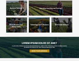 #145 for Graphic Design Layout Mockup for Redesigned Corporate Website af WebCraft111