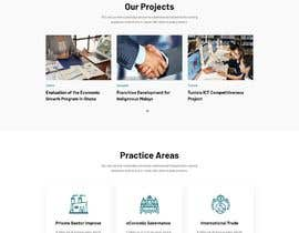#136 for Graphic Design Layout Mockup for Redesigned Corporate Website af Archux