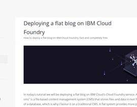 #141 for Tutorial: Host a small business website on IBM Cloud af Varulv