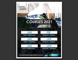 #27 for 2021 Course Calendar by Aminul02