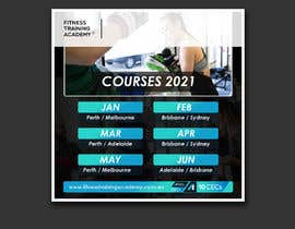 #29 for 2021 Course Calendar by Aminul02