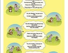 nº 28 pour Illustrate and layout Children's story par MDJillur